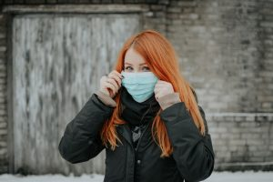 Wearing mask during COVID