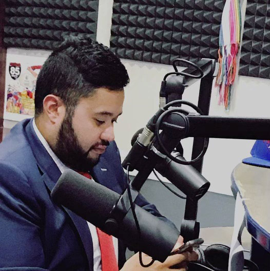 Luis Virguez Radio broadcasts
